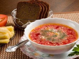 обед в гостевом комплексе Мюреля 4